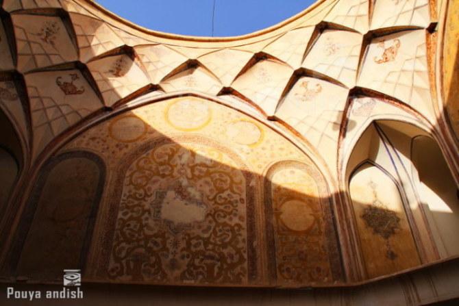 pottery kashan 106 - تور هنرجویان تصویرگران پویا اندیش - کاشان