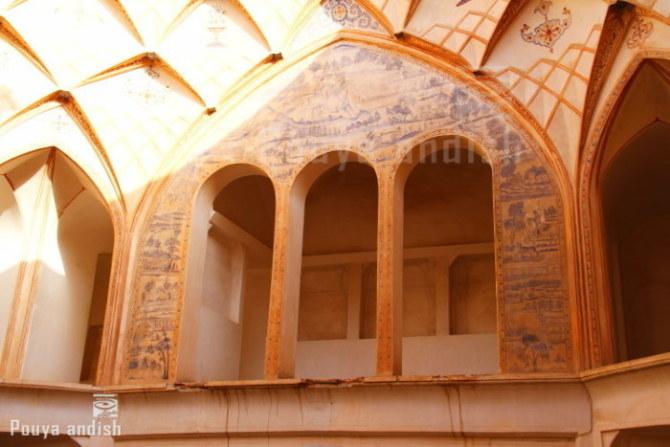 pottery kashan 114 - تور هنرجویان تصویرگران پویا اندیش - کاشان