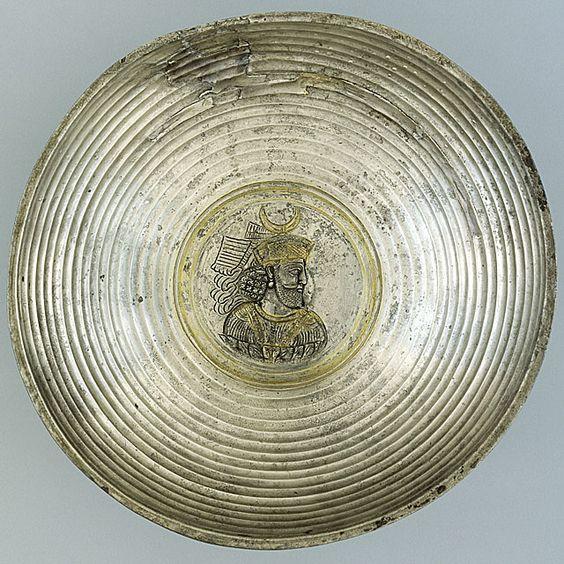 pottery sasanian 10 - سفالگری در ایران ، تاریخچه سفالگری در ایران