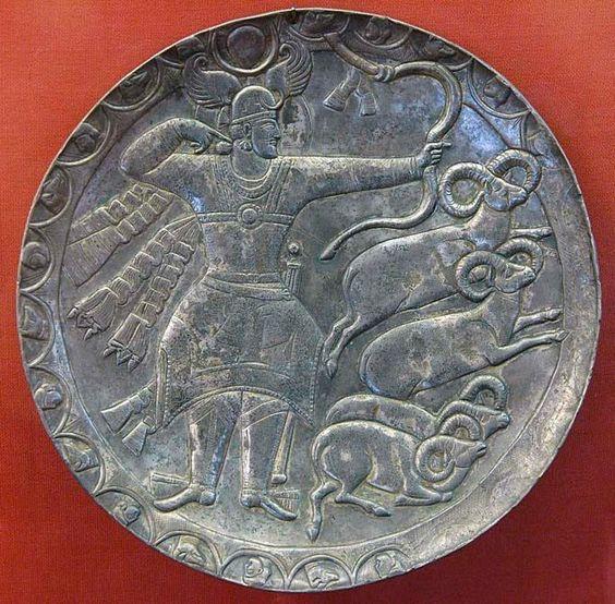 pottery sasanian 2 - سفالگری در ایران ، تاریخچه سفالگری در ایران