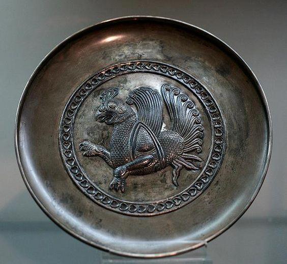 pottery sasanian 22 - سفالگری در ایران ، تاریخچه سفالگری در ایران