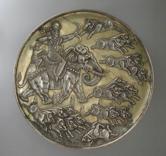 pottery sasanian 23 - سفالگری در ایران ، تاریخچه سفالگری در ایران