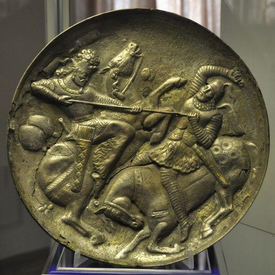 pottery sasanian 24 - سفالگری در ایران ، تاریخچه سفالگری در ایران