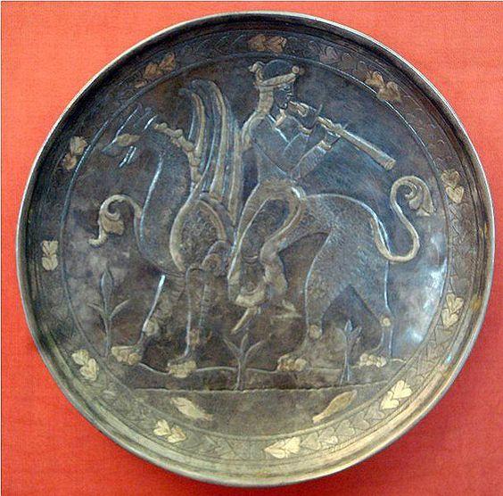 pottery sasanian 25 - سفالگری در ایران ، تاریخچه سفالگری در ایران