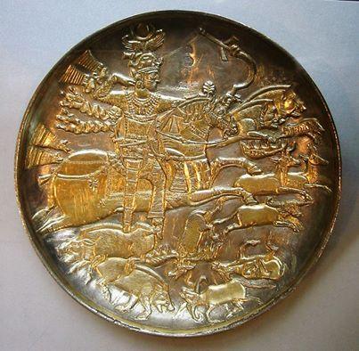 pottery sasanian 26 - سفالگری در ایران ، تاریخچه سفالگری در ایران