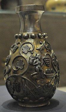 pottery sasanian 28 - سفالگری در ایران ، تاریخچه سفالگری در ایران