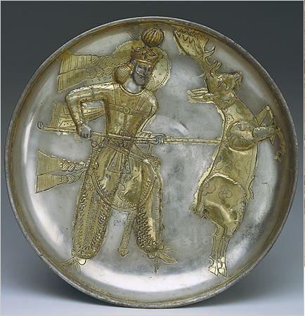 pottery sasanian 30 - سفالگری در ایران ، تاریخچه سفالگری در ایران