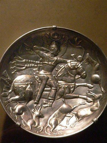 pottery sasanian 5 - سفالگری در ایران ، تاریخچه سفالگری در ایران