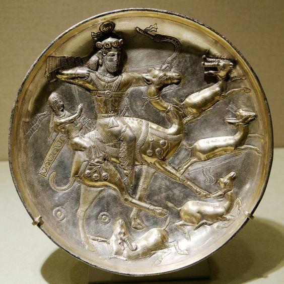 pottery sasanian 6 - سفالگری در ایران ، تاریخچه سفالگری در ایران