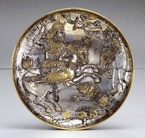 pottery sasanian 9 - سفالگری در ایران ، تاریخچه سفالگری در ایران