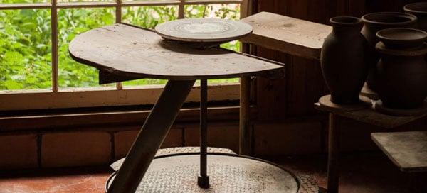 pottery studio - سفالگری در خانه ، لذت سفالگری را در خانه تجربه کنیم .