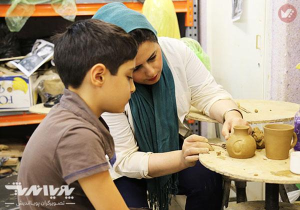 sofalgari koodak - مزایای سفالگری برای کودکان