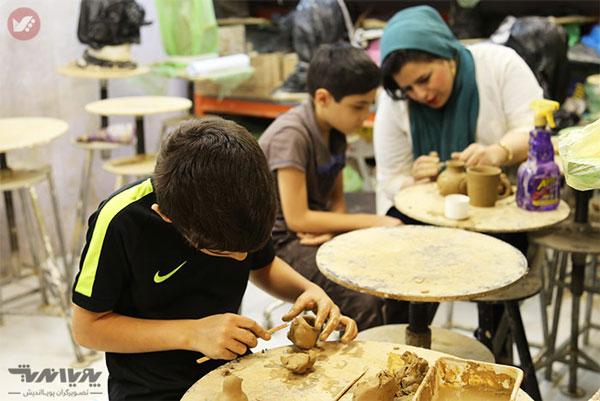sofalgari koodakan - مزایای سفالگری برای کودکان