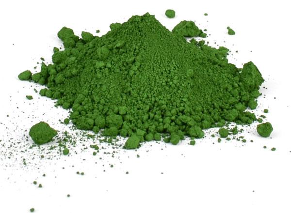 Chromium Oxide - رنگ و لعاب سفالگری