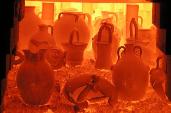 Furnace - رنگ و لعاب سفالگری
