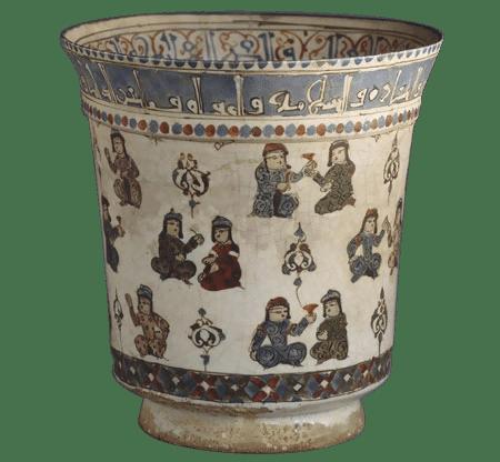 enemal glazing - تاریخچه سفال مینایی