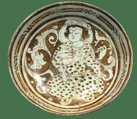 enemal pottery - تاریخچه سفال مینایی