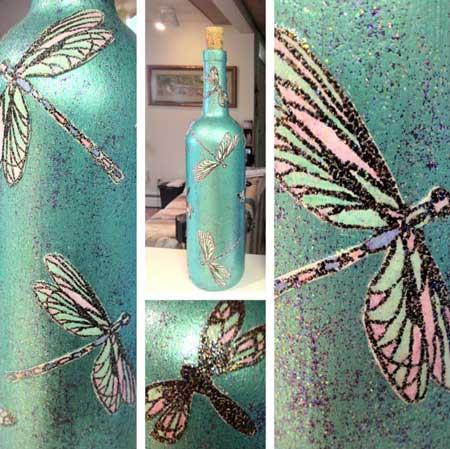 patina glass 1 - پتینه کاری روی شیشه