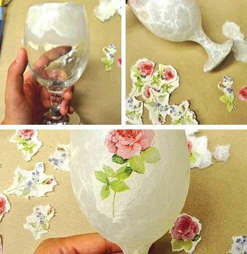 patina glass - پتینه کاری روی شیشه