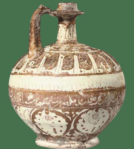 persian enemal glaze - تاریخچه سفال مینایی