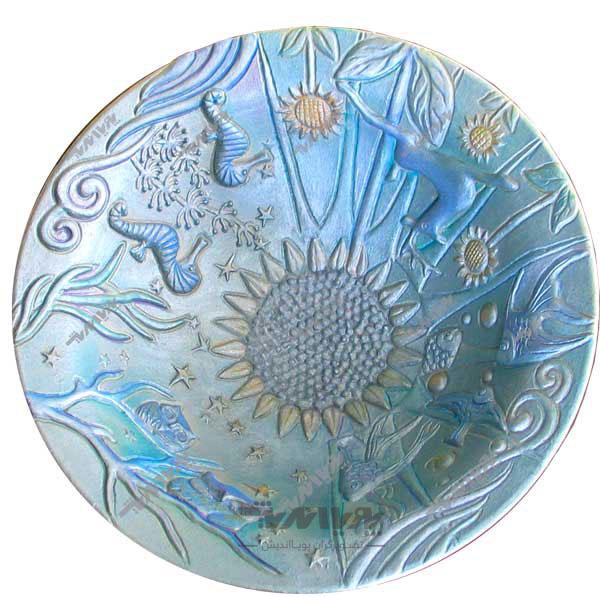 pottery patina 1 - پتینه کاری روی سفال