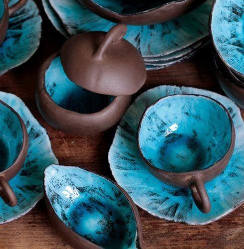 glaze pottery - ظروف لعابی