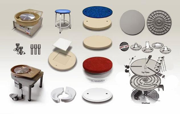 pottery wheel - چرخ سفالگری