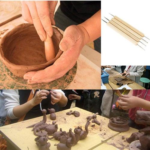 children pottery 1 - آموزش سفالگری به کودکان پیش دبستانی
