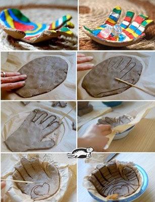 kids clay - آموزش سفالگری به کودکان پیش دبستانی