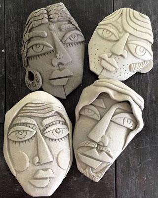 pottery children - آموزش سفالگری به کودکان پیش دبستانی