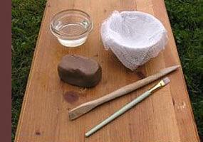 pottery kids1 - آموزش سفالگری به کودکان پیش دبستانی