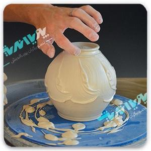 pottery techniques - سفالگری ، آموزش سفالگری ، آموزشگاه سفالگری
