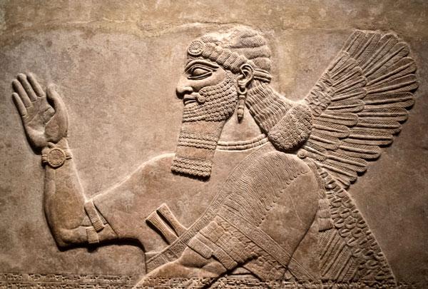 relief art 5 - نقش برجسته سفالی