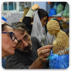 sculpting art - سفالگری ، آموزش سفالگری ، آموزشگاه سفالگری