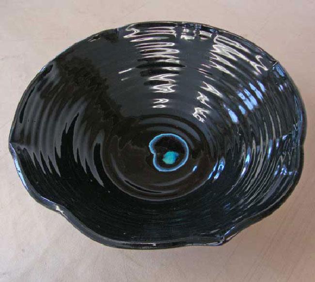 black - ترکیب و حرارت دهی شیشه به همراه سفالگری