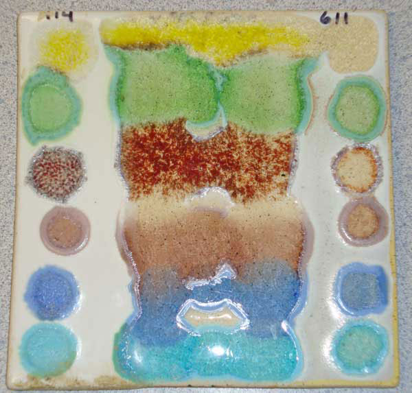 glaze pottery 1 - ترکیب و حرارت دهی شیشه به همراه سفالگری