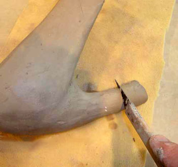 shoes clay4 - ساخت کفش با گل رس