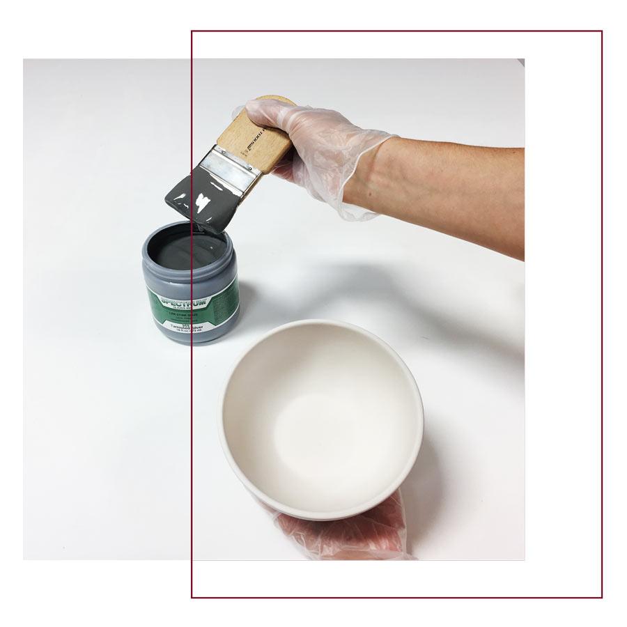 Brush - لعاب روی سفال ، ترکیب ، استفاده و کاربرد های آن