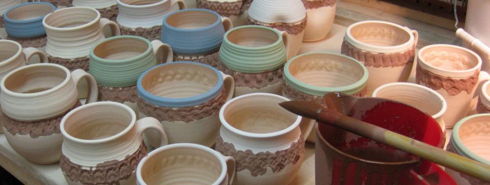 gary jackson mug glazing - ظرف لعابی