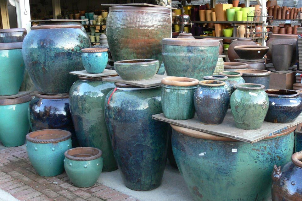 gorgeous ceramic outdoor - ظرف لعابی