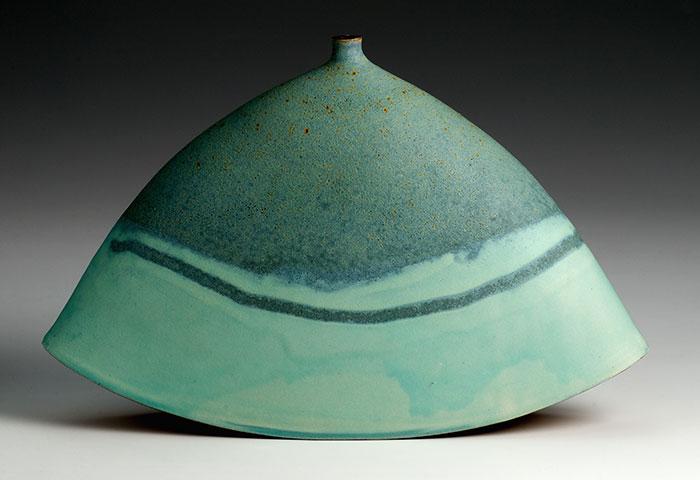 green rocking pot - آموزش رنگ لعاب سفال
