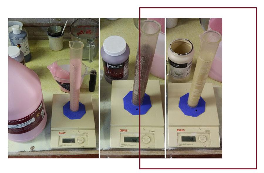 hydrometer - لعاب روی سفال ، ترکیب، استفاده و کاربردها