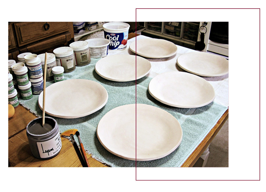 moo plates - لعاب روی سفال ، ترکیب، استفاده و کاربردها