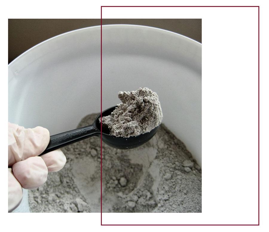 powder - لعاب روی سفال ، ترکیب، استفاده و کاربردها
